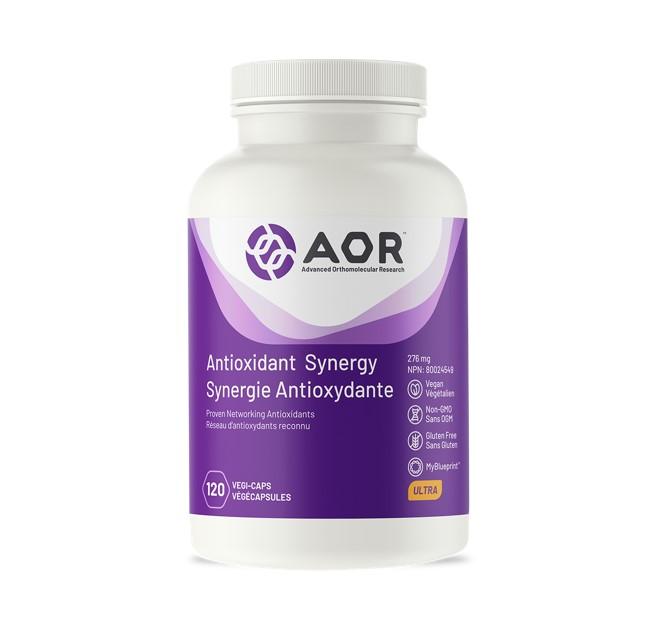 AOR Antioxidant Synergy 120 Veggie Caps