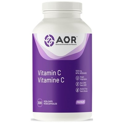 AOR Vitamin C 300 Veggie Caps
