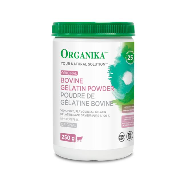 Organika Bovine Gelatin 250g