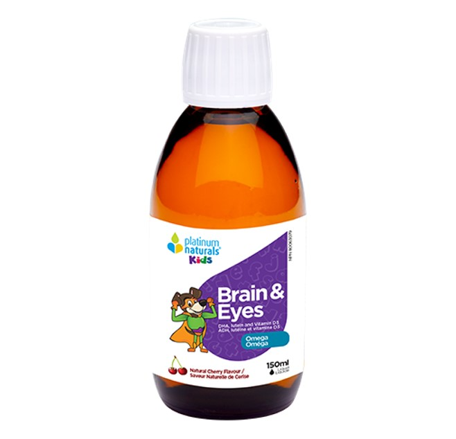 Platinum Naturals Kids Brain and Eyes Liquid 150ml