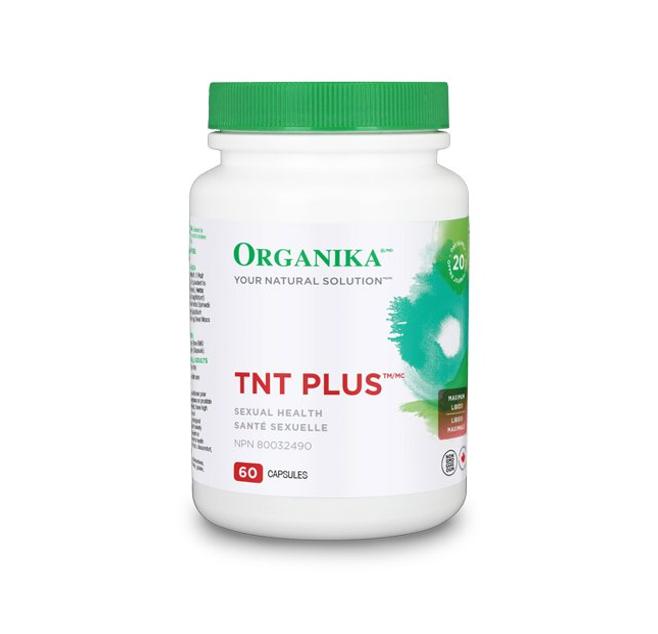 Organika TNT Plus (Tribulus Terrestris) 600mg Veggi 60 Caps