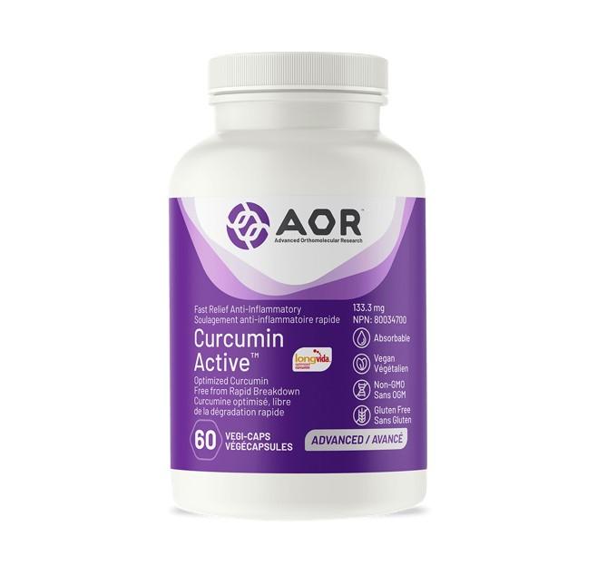 AOR Curcumin Active™ 60 Veggie Caps