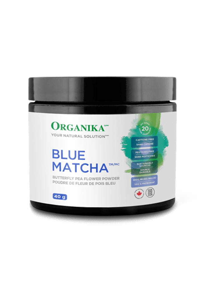 Organika Matcha Butterfly Pea Flower Powder 40g