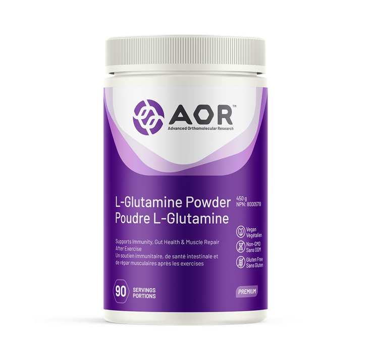 AOR L-Glutamine Powder 450g