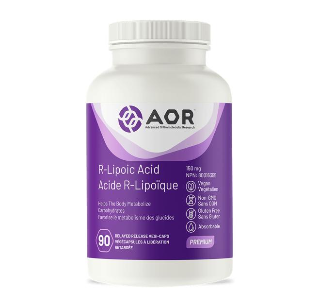 AOR R-Lipoic Acid 150mg 90 Veggie Caps