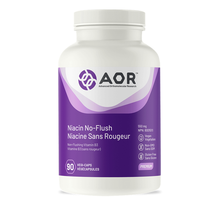 AOR Niacin No-Flush 90 Capsules