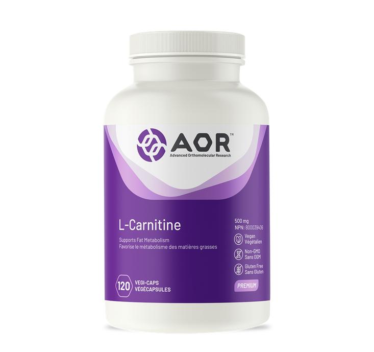 AOR L-Carnitine 120 Capsules