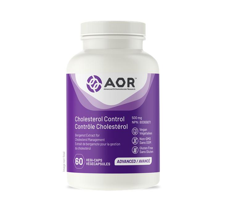 AOR Cholesterol Control 60 Capsules