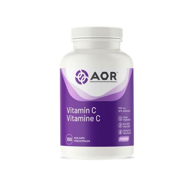 AOR 비타민 C 100 식물성 캡슐