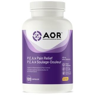 AOR P.E.A.k Pain Relief 120 Capulses