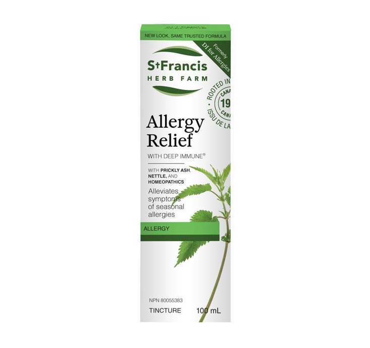 St. Francis Herb Farm Allergy Relief (Deep Immune For Allergies) 100ml
