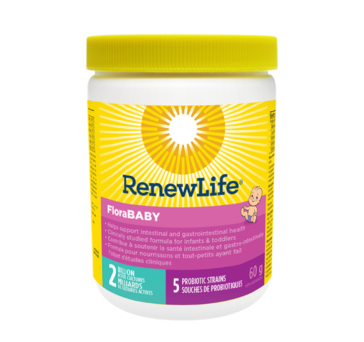 Renew Life FloraBABY® 2 Billion Active Cultures 60g
