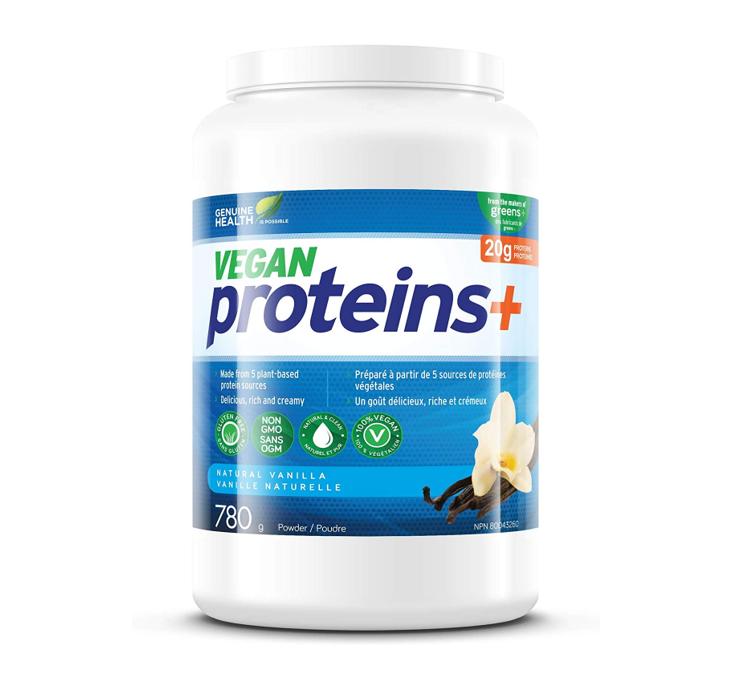 Genuine Health Vegan Protenis + Vanilla Powder 780g
