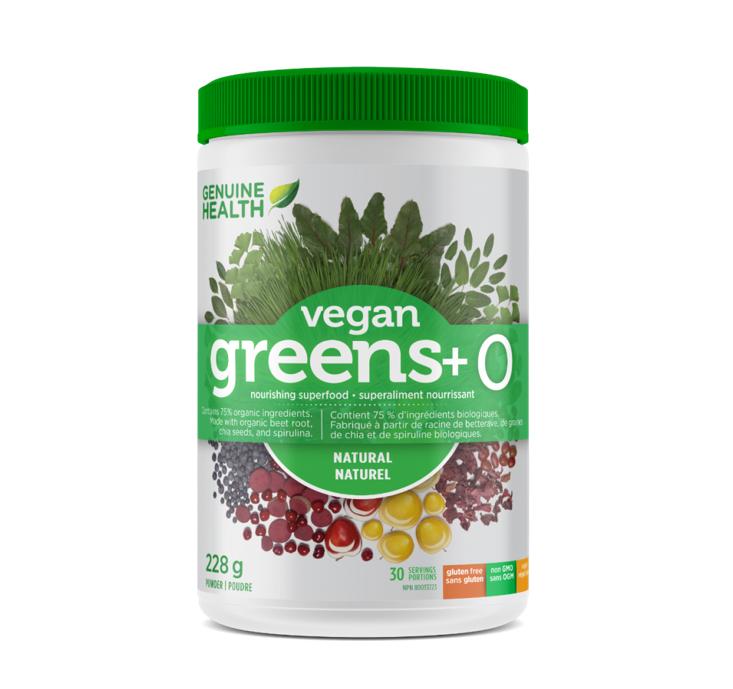 Genuine Health Vegan greens + O Original Powder 228g