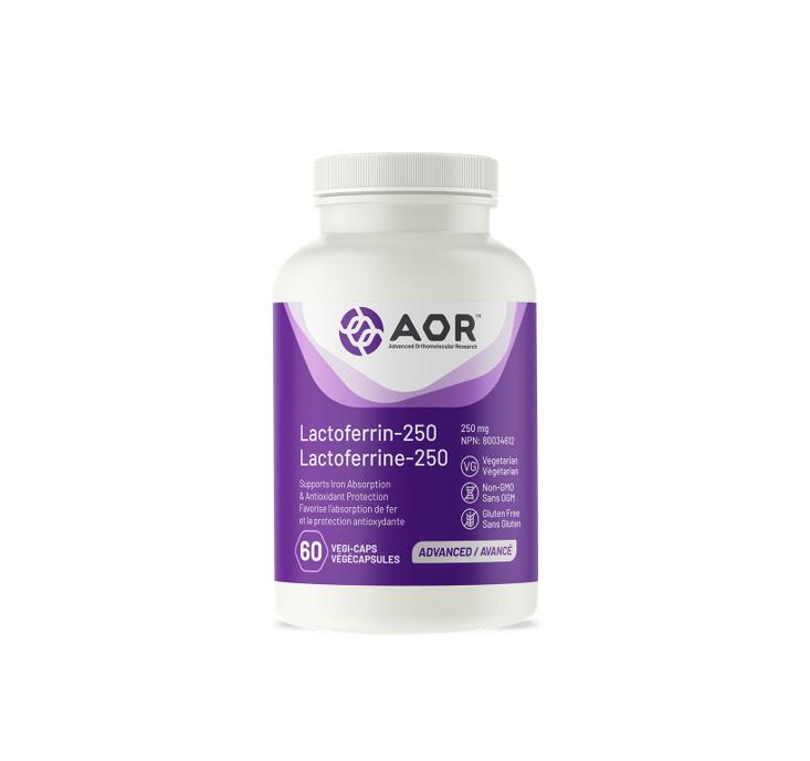 AOR Lactoferrin-250 60 Capsules