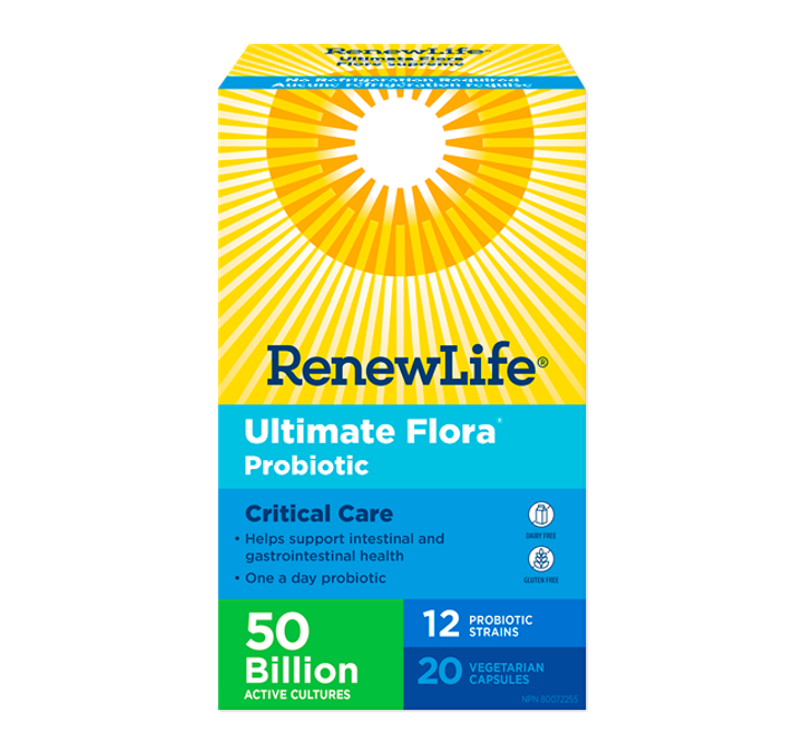 Renew Life Ultimate Flora® Critical Care 50 Billion 20 Veggie Capsules