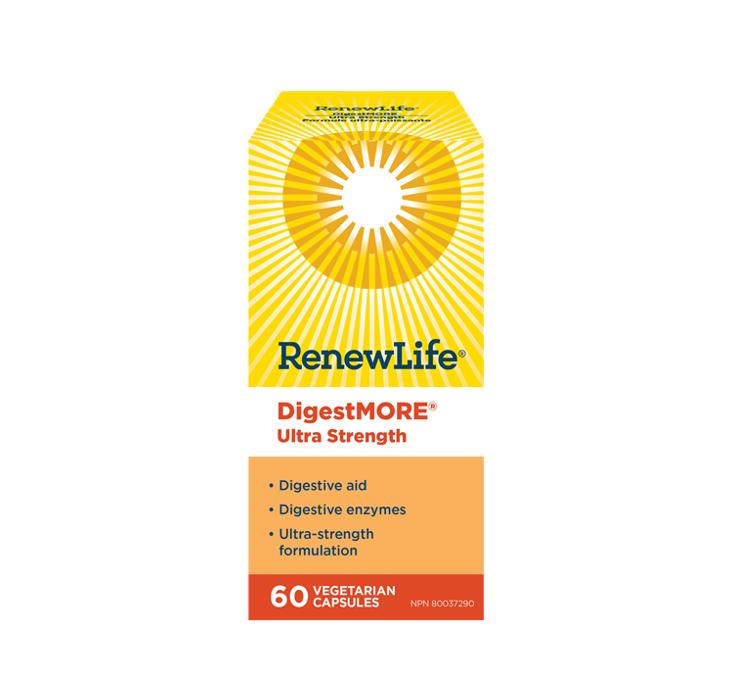 Renew Life DigestMORE Ultra 60 Capsules
