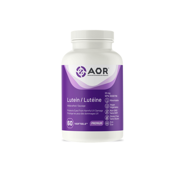 AOR Lutein 60 Capsules