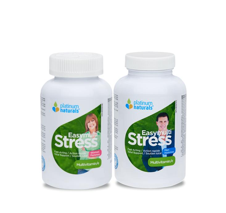 플래티넘 이지멀티 스트레스 남성&여성 세트 120캡슐