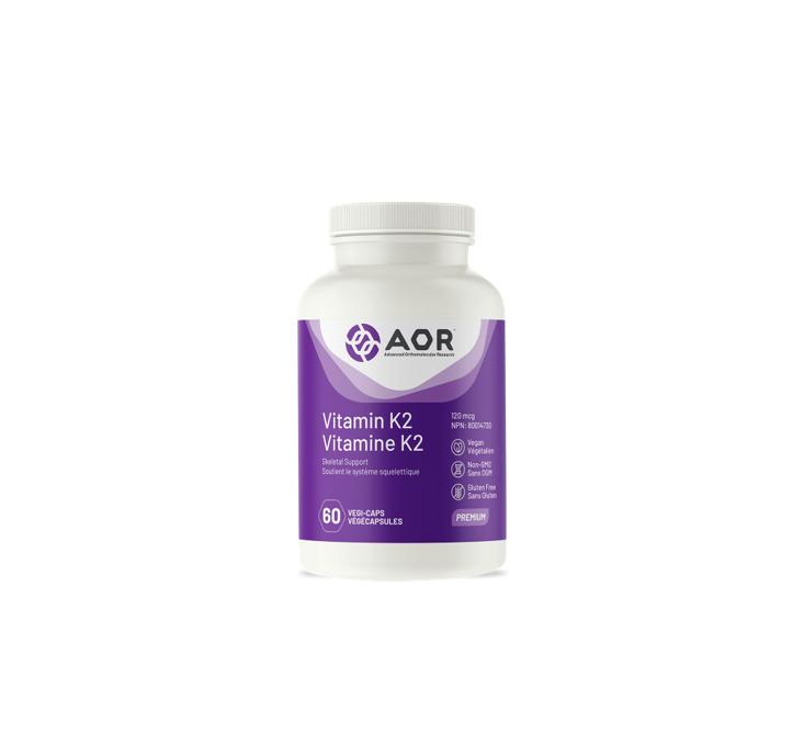 AOR Vitamin K2 60 V-Capsules