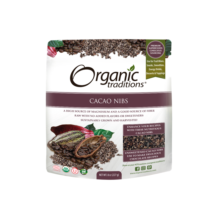 Organic Traditions Organic Cacao Nibs 227g
