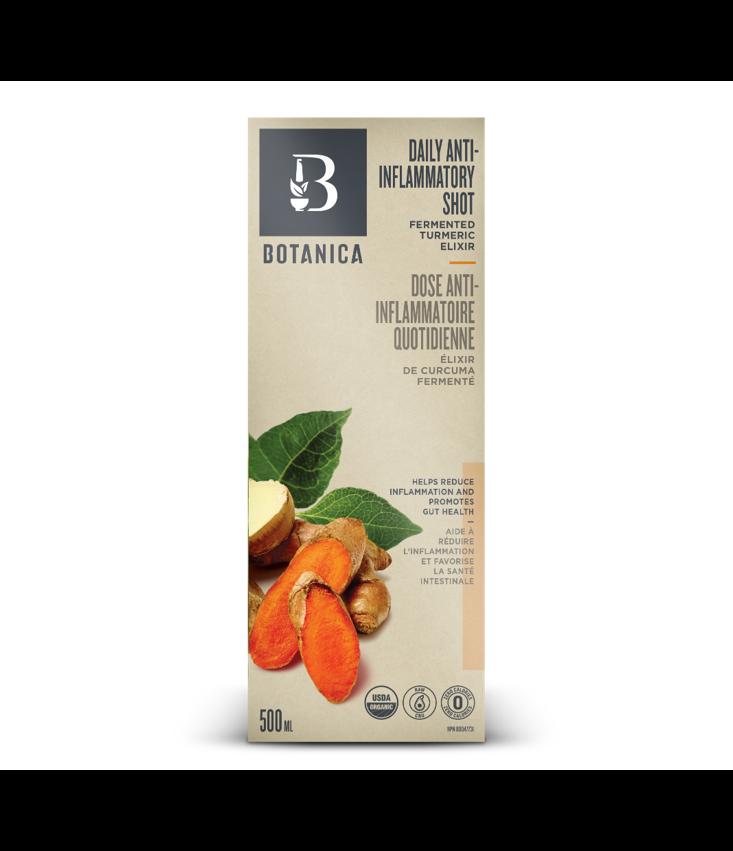 Botanica Daily Anti-Inflammatory Shot 500ml (Fermented Turmeric)