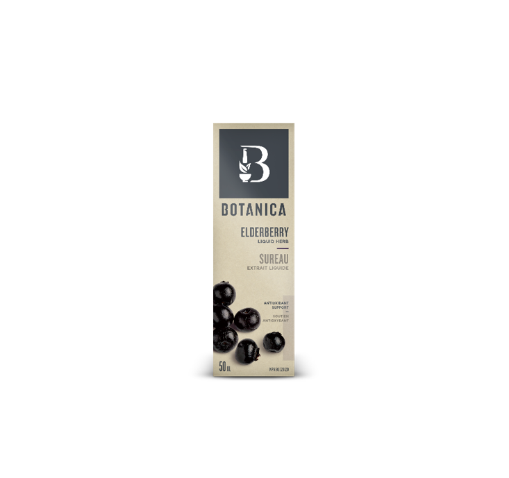 Botanica Elderberry Liquid Herb 50ml