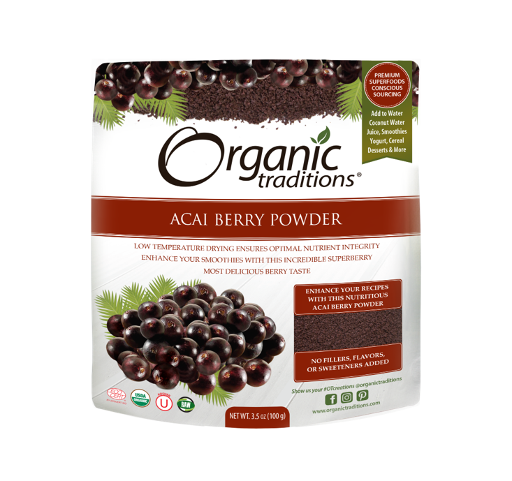 Organic Tradition Oraganic Acai Berry Powder 100g