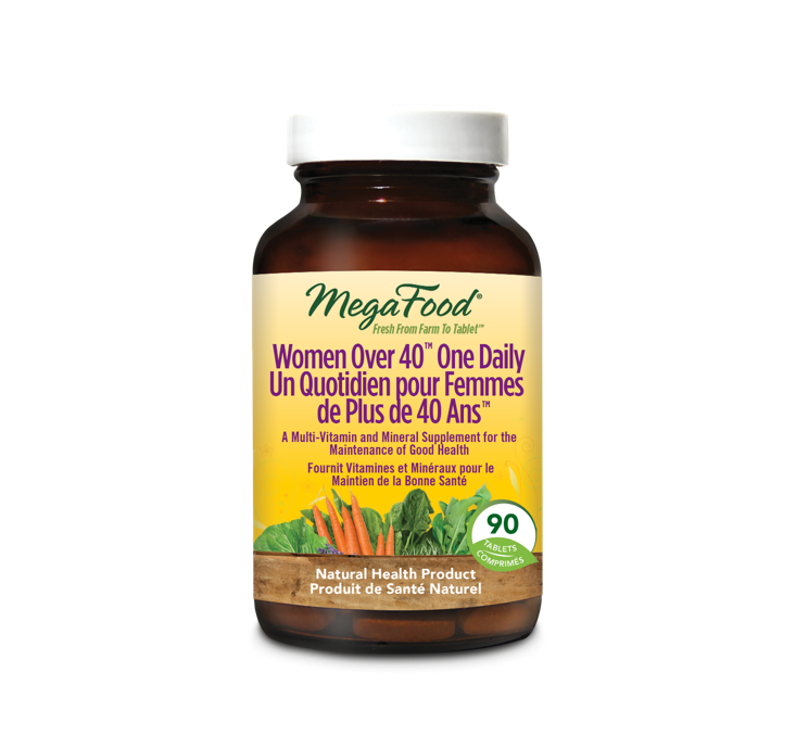 MegaFood Women Over 40 One Daily 90 Tablets