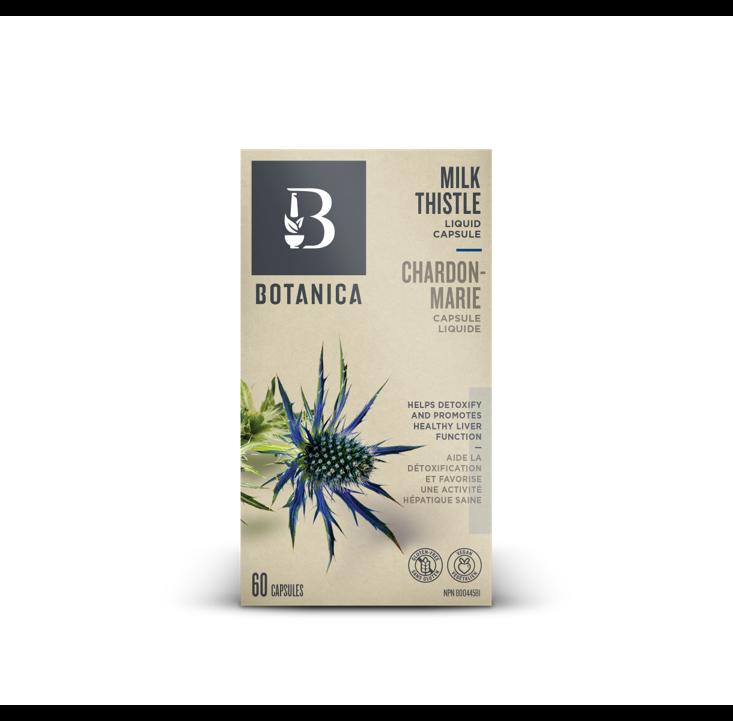 Botanica Milk Thistle Liquid 60 Capsules
