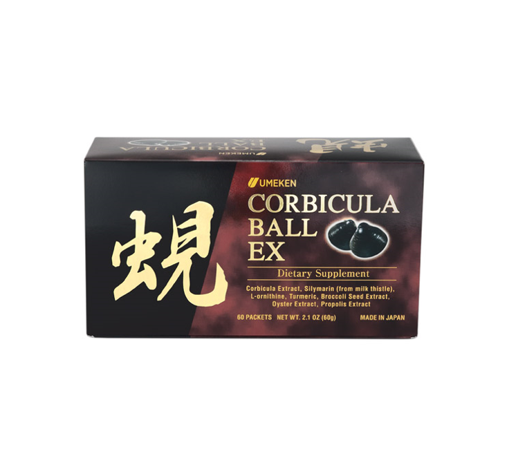 Umeken Corbicula Ball EX / 2 months Supply 60 Packets