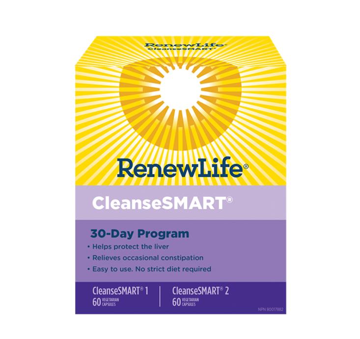 Renew Life CleanseSMART KIT 30 Day Program Full Body Cleanse