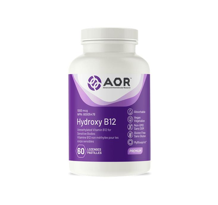 AOR Hydroxy B12 60 Capsules