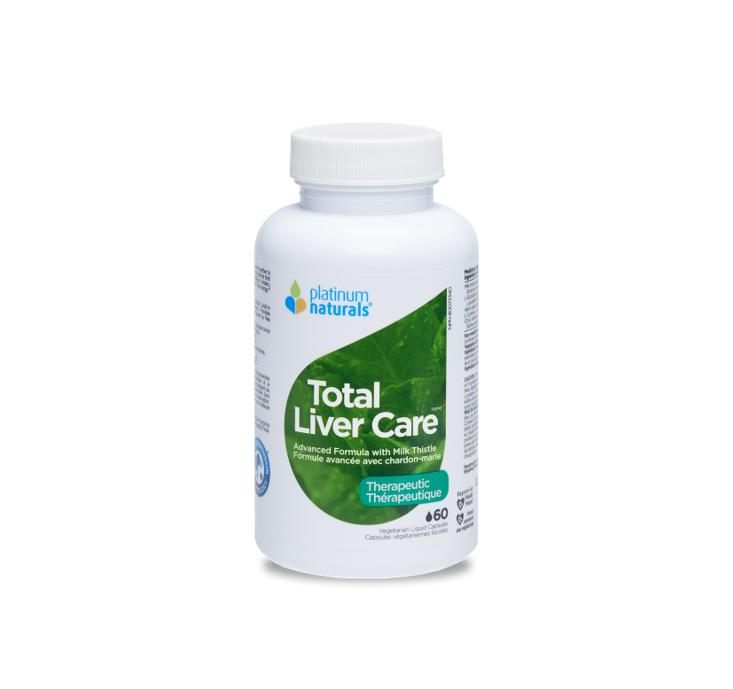 Platinum Naturals Total Liver Care 60 Veggi Liquid Capsules