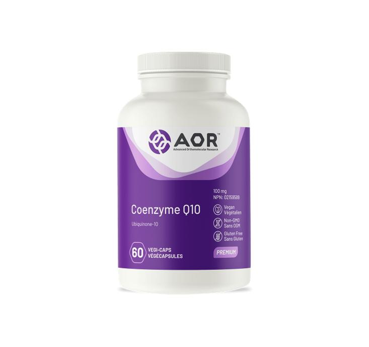 AOR Coenzyme Q10 60 Capsules