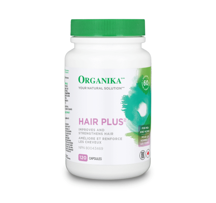 Organika Hair Plus 120 Capsules