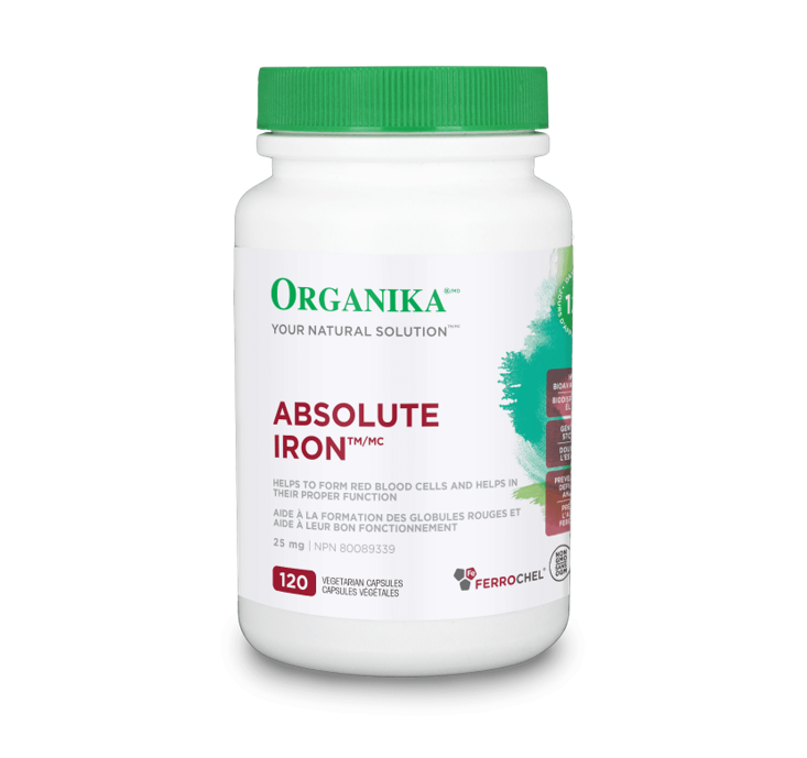 Organika Absolute Iron 120 Capsules
