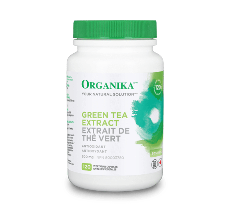 Organika Green Tea 120 Capsules