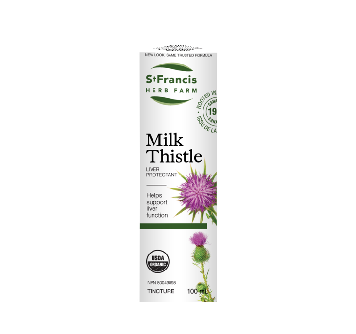 St. Francis Herb Farm Milk Thistle 100ml