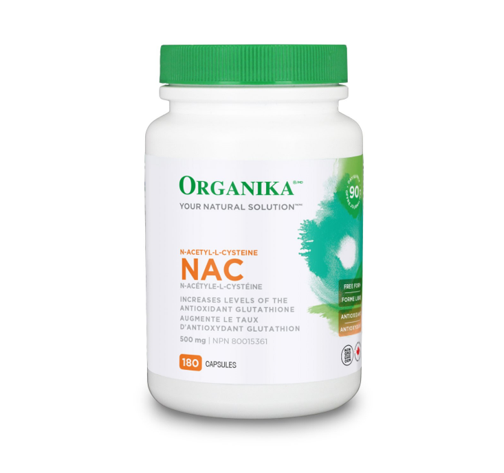 Organika NAC 500mg 180 Capsules