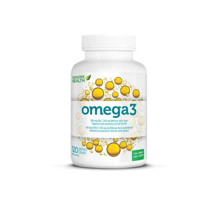 Genuine Health Omega3 120 Softgels