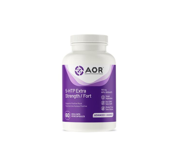 AOR 5-HTP Extra Strength 60 Capsules