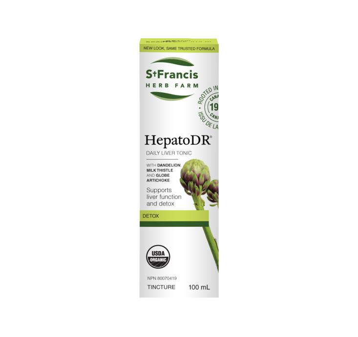 St. Francis Herb Farm Hepato DR 100ml