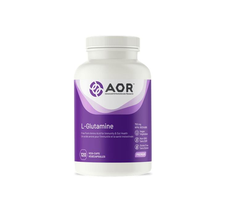 AOR L-Glutamine 120 Capsules