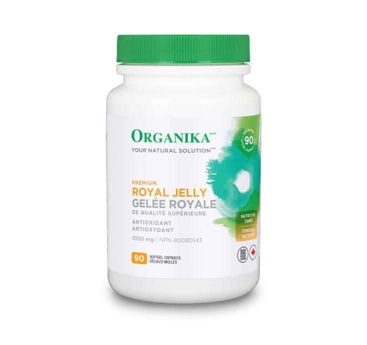 Organika Premium Royal Jelly 90 Softgels