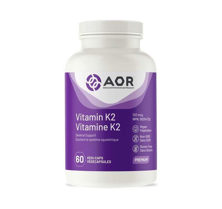 AOR Vitamin K2 60 caps