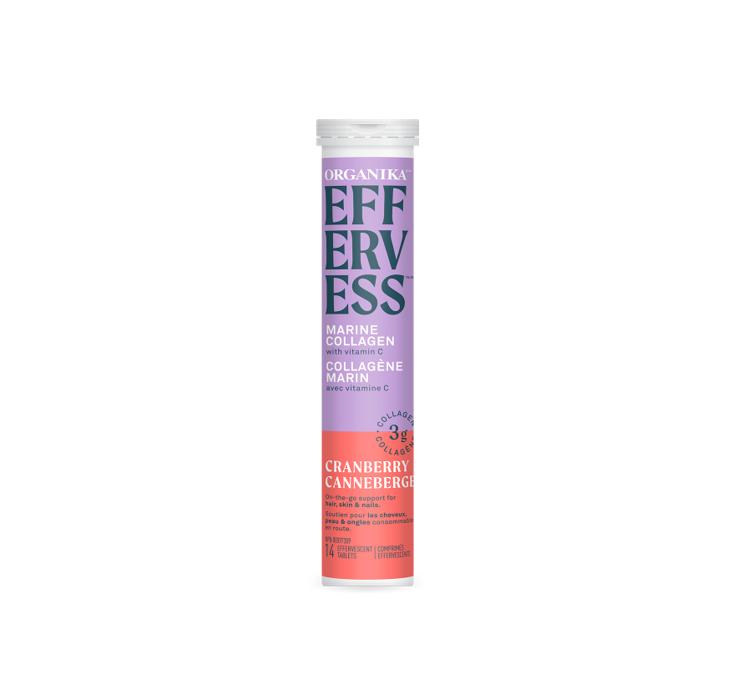 Organika Effervess - Cranberry 1tube (14tablets)