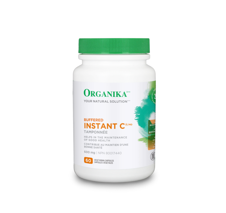 Organika Buffered Instant-C 60 Vcaps
