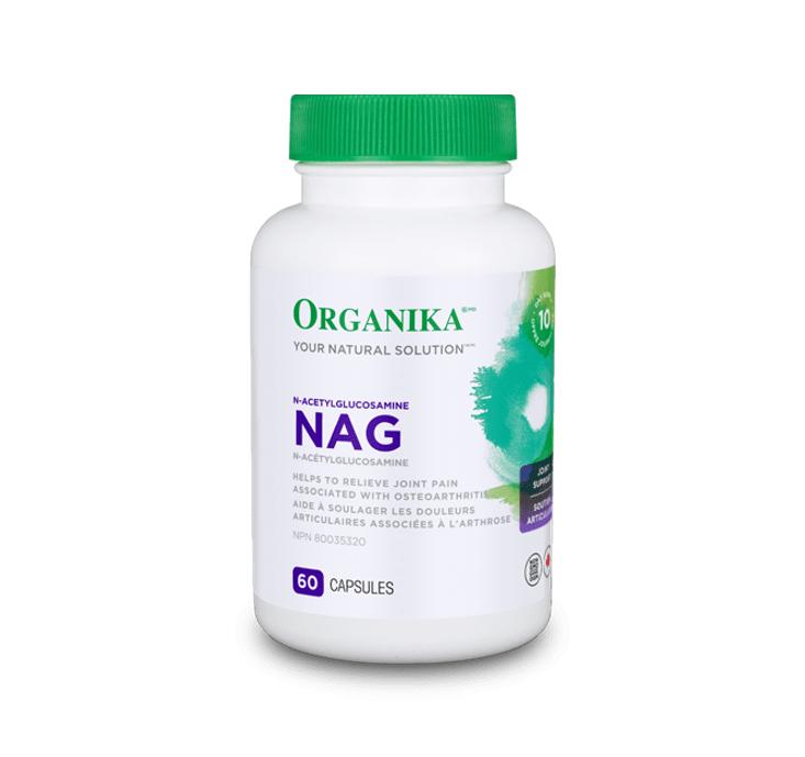 Organika NAG (N-Acetylglucosamine) 60caps