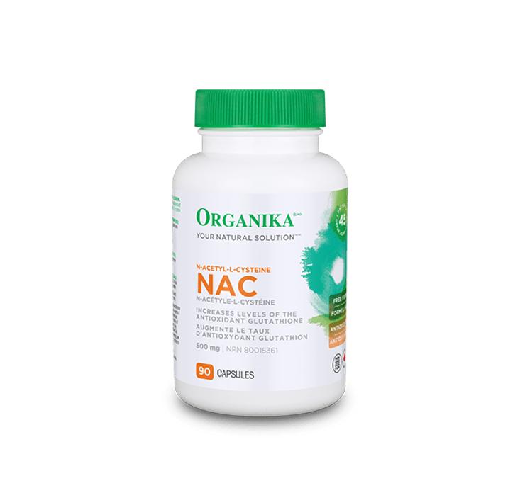 Organika NAC 500mg 90 caps